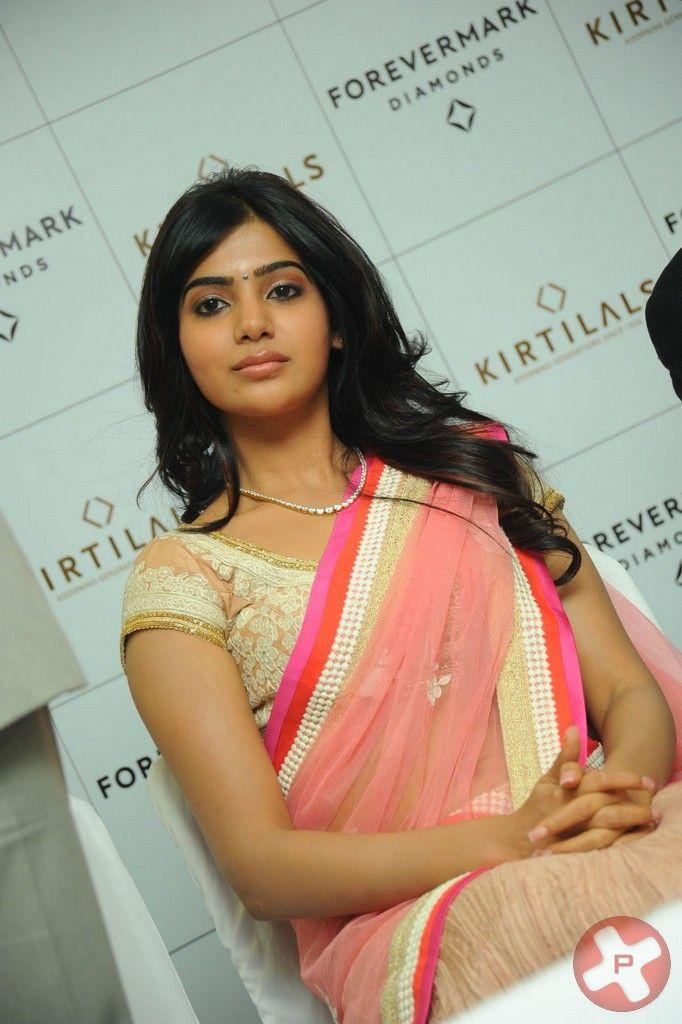 Samantha Make An Appearance At The Launch Of Diamond Jewellery In Kirtilal Jewellers