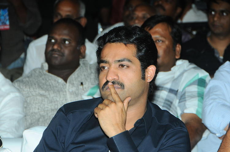 Jr. NTR In Deep Thought At Baadshah Audio Launch Function