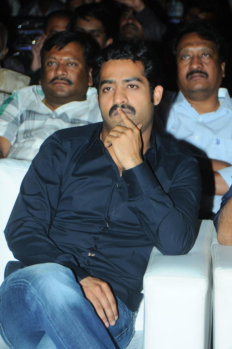 Jr. NTR Spotted At Baadshah Audio Launch Function
