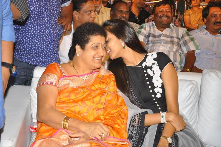 Shalini And Lakshmi Cool Gossip Look At Badshah Audio Launch Function