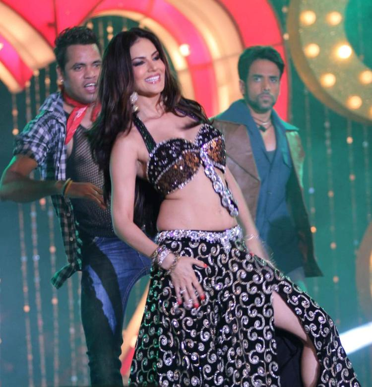 Sunny Leone Sizzles On The Stage At The Music Launch Of Shootout At Wadala
