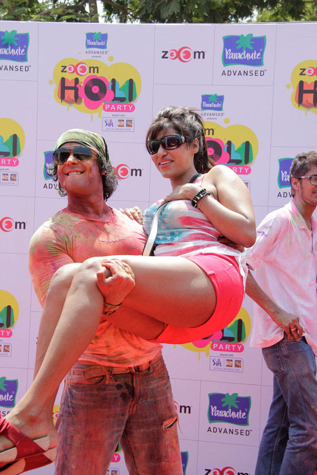 Celebs Make Merry Making At ZOOM Holi Party