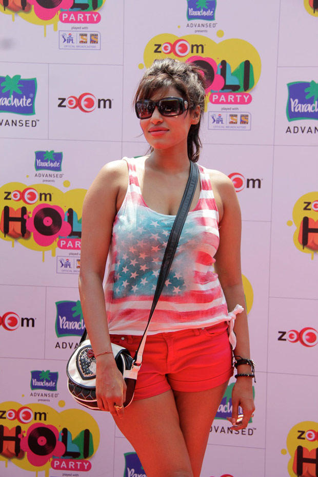 A Hottie Celeb Spotted At ZOOM Holi Party