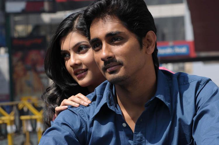 Siddharth And Ashrita Cute Look Photo Still From Movie Udhayam NH4