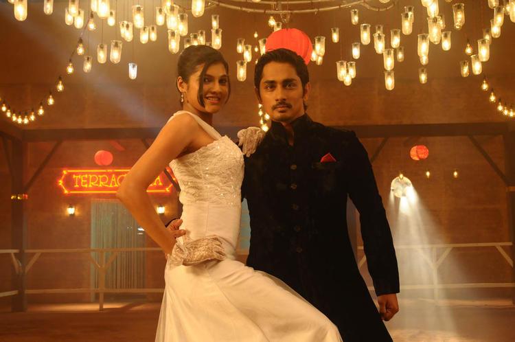 Siddharth And Ashrita Rocking Dance Photo Still From Movie Udhayam NH4