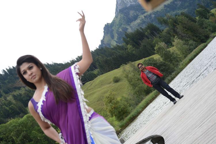 Nagarjuna And Nayantara Song Photo Still From Movie Greeku Veerudu