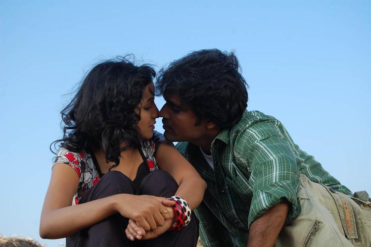 Arshad Khan Kissing Photo Still From Movie Lavvata