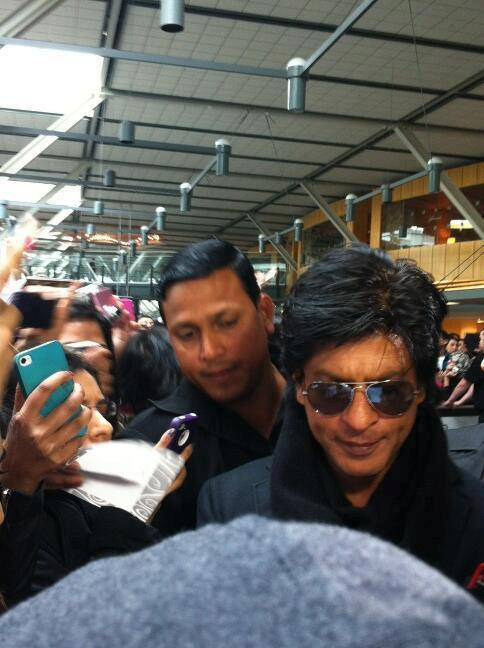 SRK Dappers Look At Vancouver International Airport