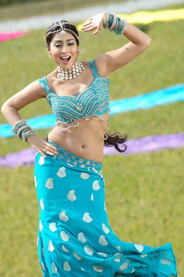 Shriya Saran Sexy Navel Show Dance Photo Still