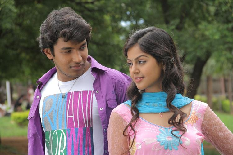 Monal And Sravan Nice Look Photo Still From Oka Collage Story Movie