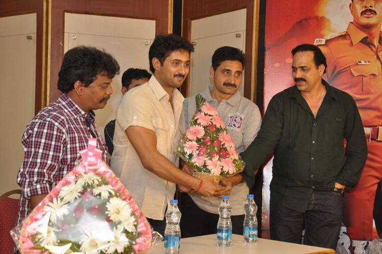 Uday Kiran Make An Appearance At Jai Sriram Movie Platinum Disc Function