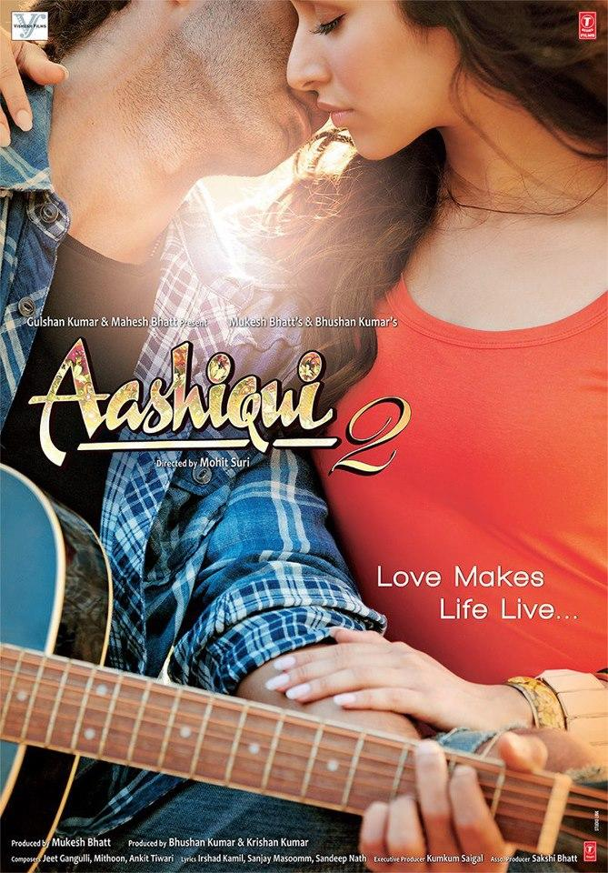 Aditya And Shraddha Hot Look In In Aashiqui 2 Movie Poster