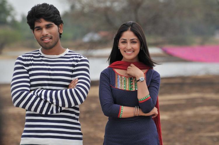 Sirish And Yami Dashing Look Photo Still From Movie Gouravam