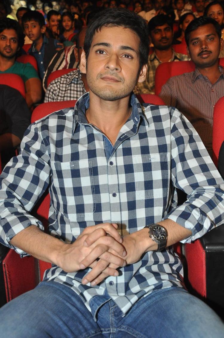 Mahesh Spotted At Premakadha Chitram Audio Release
