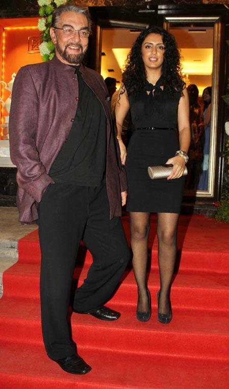 Kabir With Wife Parveen Snapped At Farah Khan Ali Store Launch Party
