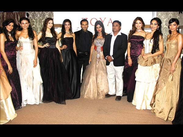 Marc Robinson,Nisha,Asif,Parvathy,Shamita And Pia Clicked At Launch of Zoya Jewels Of The Crown Jewellery Line