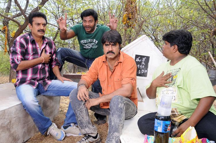 Srikanth Cool Look Still From Raja Rajeswari Pictures Movie
