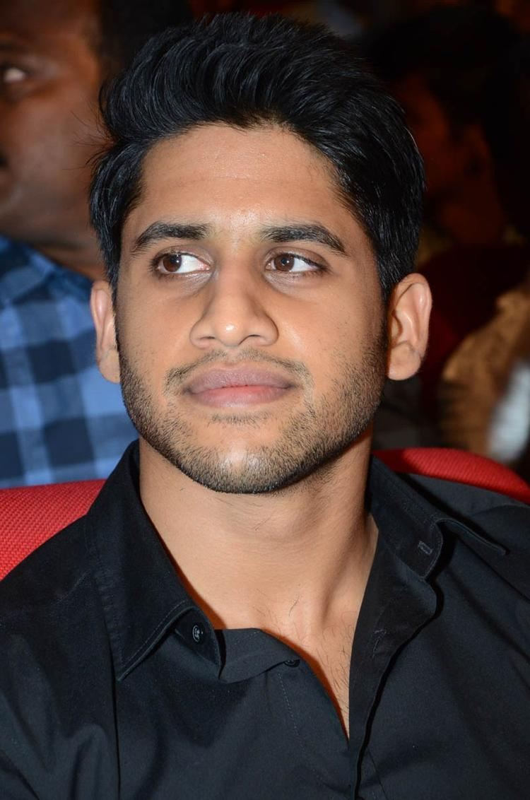 Naga Chaitanya Handsome Look At Tadakha Movie Audio Release Function