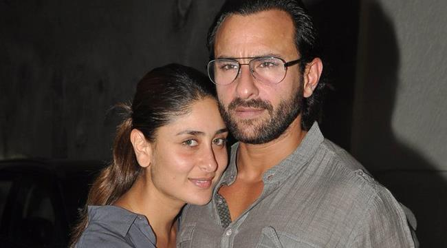 Kareena Posed With Saif At The Special Screening Of Go Goa Gone Movie