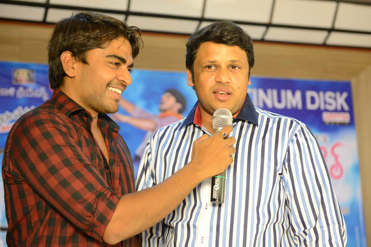 Srinivas A Still During The Launch Of Love Cycle Platinum Disc