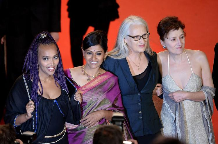 Maji-Da,Nandita,Jane And Nicoletta Cool Posed In Red Carpet At Only God Forgives Premiere During The Cannes 2013