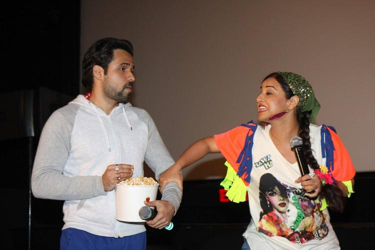 Emraan And Vidya Cool During The Music Launch Of Ghanchakkar Song Lazy Lad