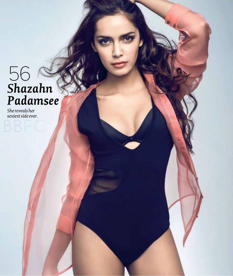 Shazahn Padamsee Hot Glamour Sexy Photo Shoot For Maxim India Magazine June 2013