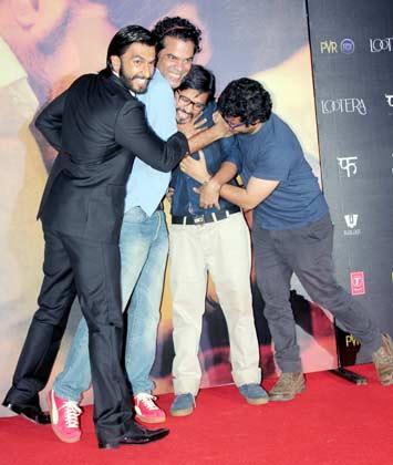 Ranveer,Vikramaditya And Amit Cool And Enjoyable Moment At Lootera Movie Audio Release Event