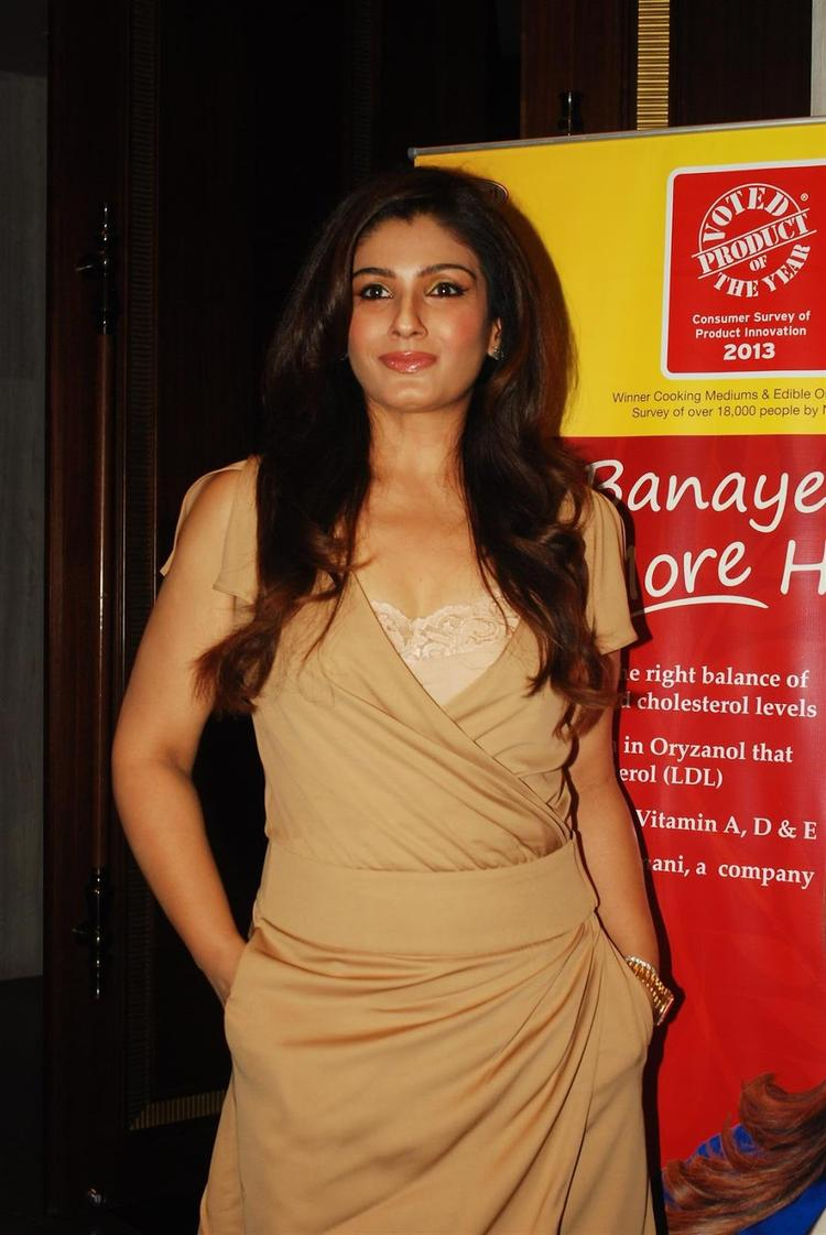 Actress-Mother Raveena Tandon Publicly Endorsed The Nutritional Qualities Of Riso Rice Bran Oil In Mumbai