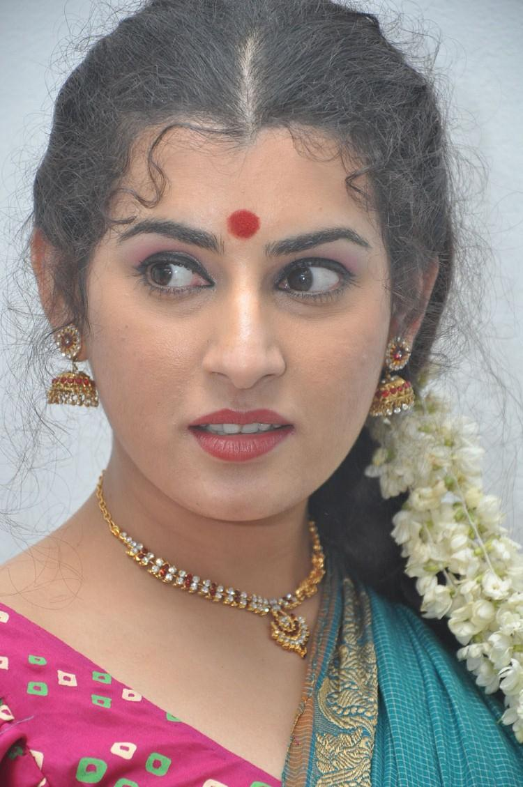 Archana Attractive Face Look At Maha Bhaktha Siriyala Movie Audio Release Function