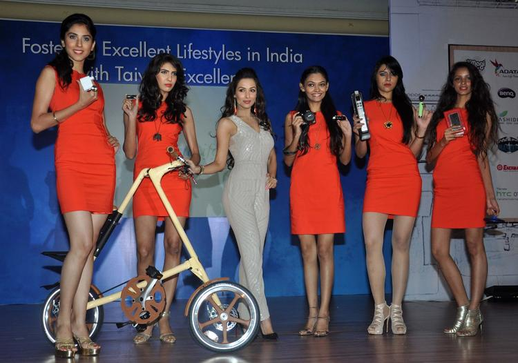 Malaika Arora Pose During The Taiwan Excellence Press Meet