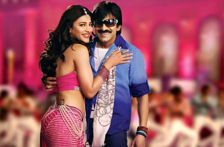 Telugu Film Balupu Shruti Haasan And Ravi Teja Latest Photo