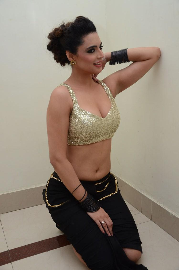 Sexy Shweta Bhardwaj Posed For Camera At Adda Movie Audio Release Function