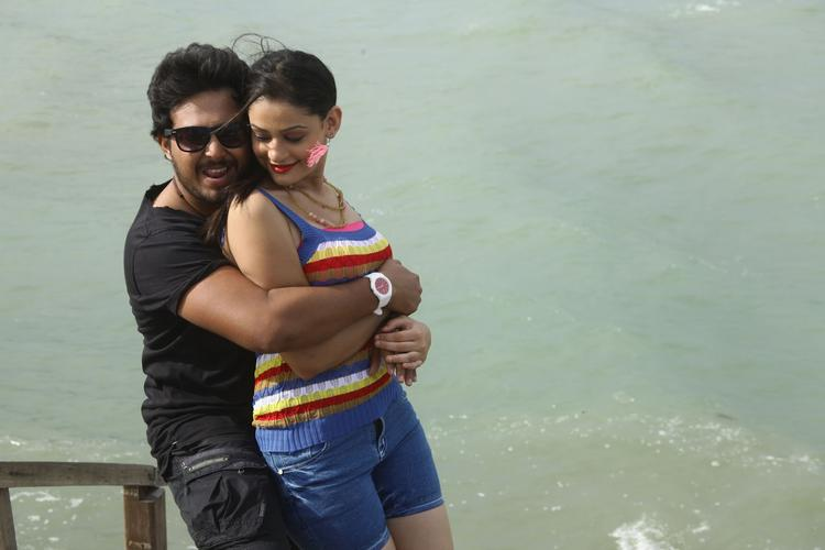 Tanish And Rupal A Hot Still From The Movie Band Baaja