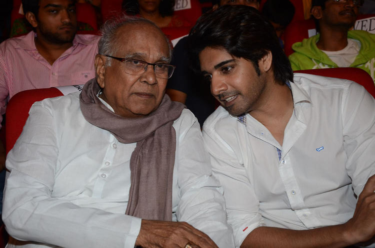 Akkineni And Sushanth During The Adda Telugu Movie Audio Launch Function
