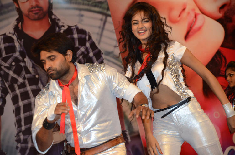 Shanvi Sexy Rocking Dance At Adda Movie Audio Launch Function