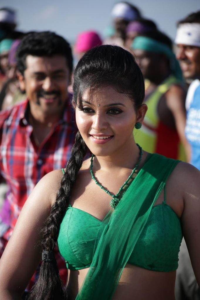 Suriya And Anjali Dance Still From Singam II Movie