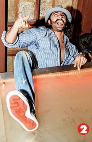 Ranveer Singh Shaking His Legs At The Park Hotel In Kolkata