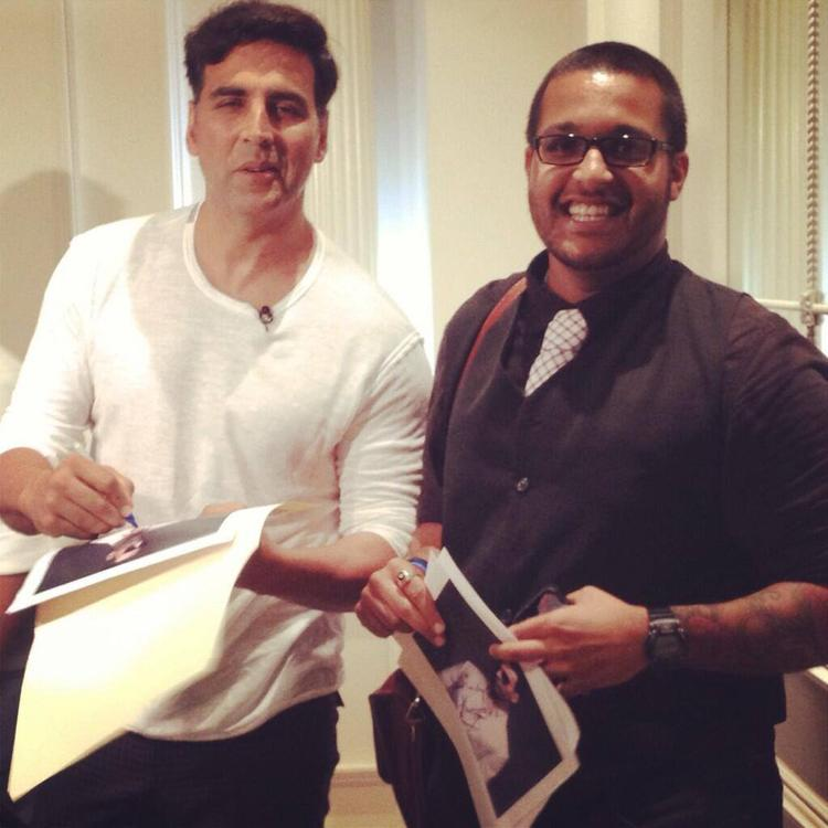 Akshay Kumar The Press Conference Of OUATIMA In New York