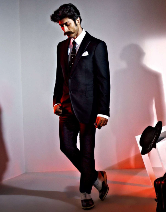 Vidyut Jamwal In Suit Dappers Look Photo Shoot For GQ India Magazine July 2013