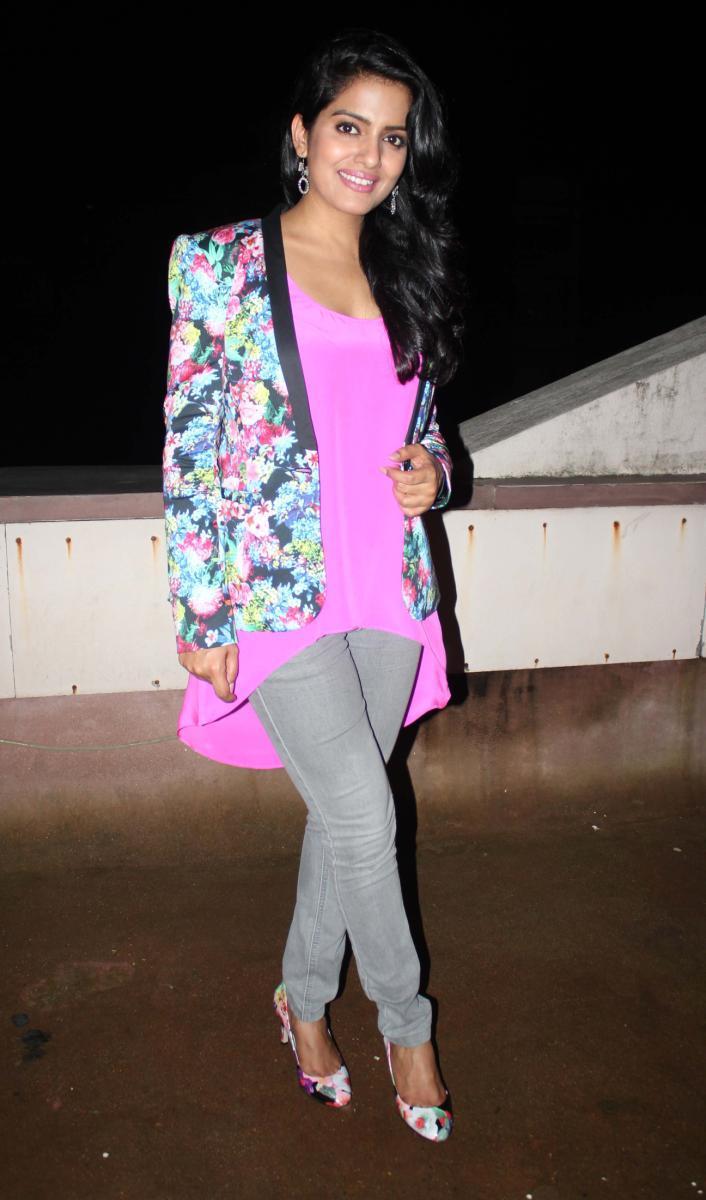 Vishakha Singh Spotted At Fukrey Movie Success Bash