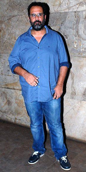Celeb Guest Posed At The Special Screening Of Lootera Movie