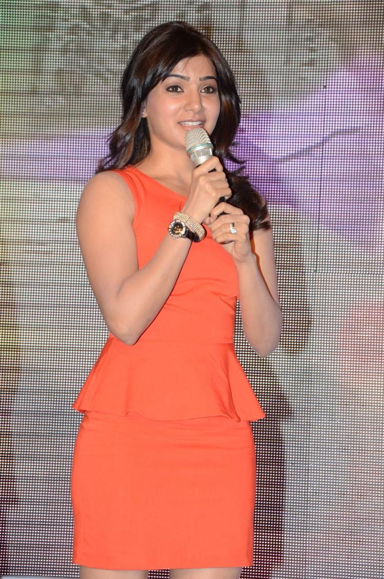 Samantha Speaking Still At Bangaru Kodipetta Movie Audio Launch Function