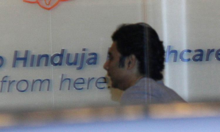 Uday Chopra Spotted At Mumbai's Hunduja Hospital Where Hrithik Roshan Underwent A Surgery
