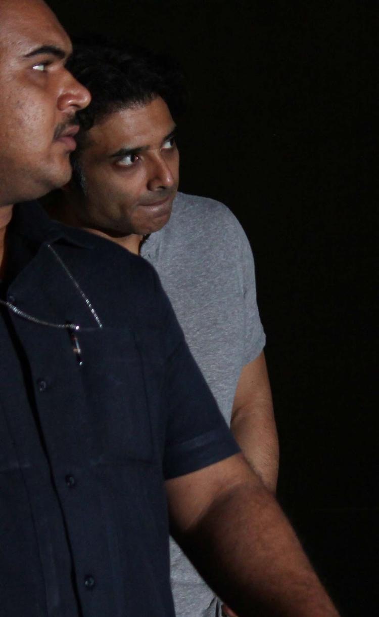 Uday Chopra Visits The Hrithik Roshan After His Surgery At Hinduja Hospital