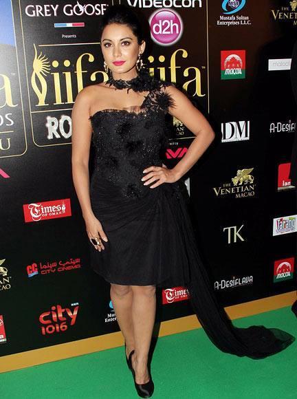 Minissha Lamba Woos The Camera In Ayesha Depala Outfit At IIFA 2013
