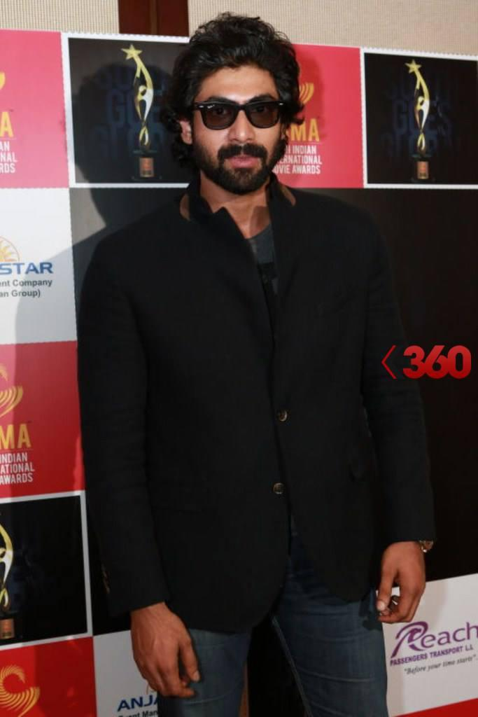 Rana Daggubati Stylish Look Posed At 2nd Edition Of SIIMA Awards 2013