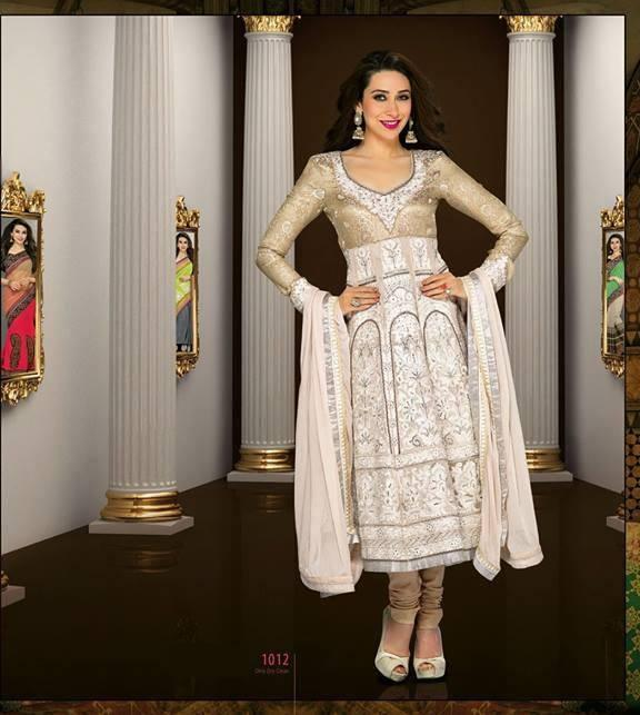 Karishma Kapoor Fashion Pic For New Salwar Kameez Collection