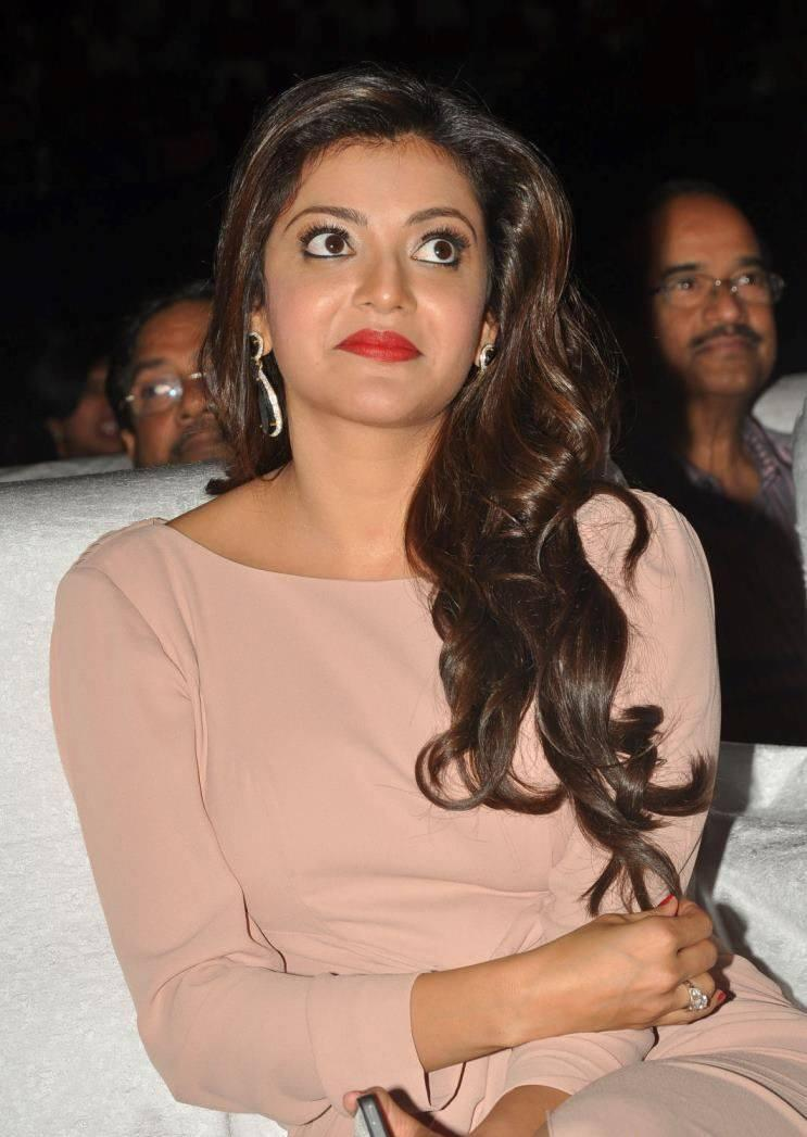 Kajal Aggarwal Dazzling Look During The Tollywood Cinema Channel Launch Event