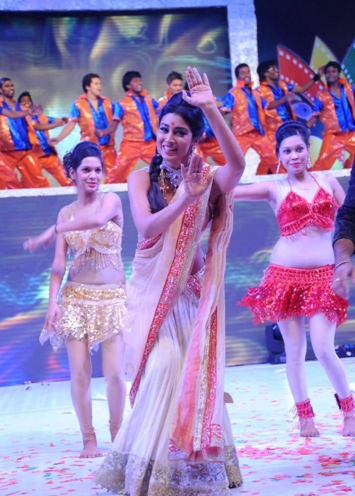Shriya Saran Preformed At Tollywood Cinema Channel Launch Event